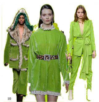 Verde greenery pantone a/i 2018