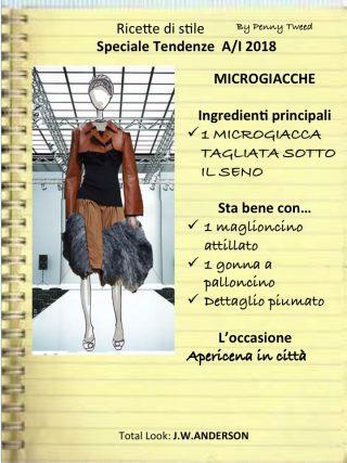 SPECIALE TENDENZE: LA MICROGIACCA