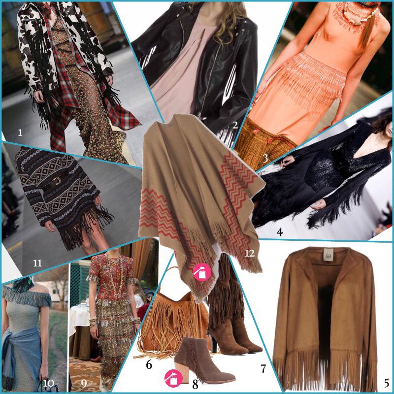 le frange moda giorno e sera