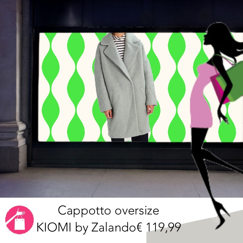 cappotto oversize cocoon