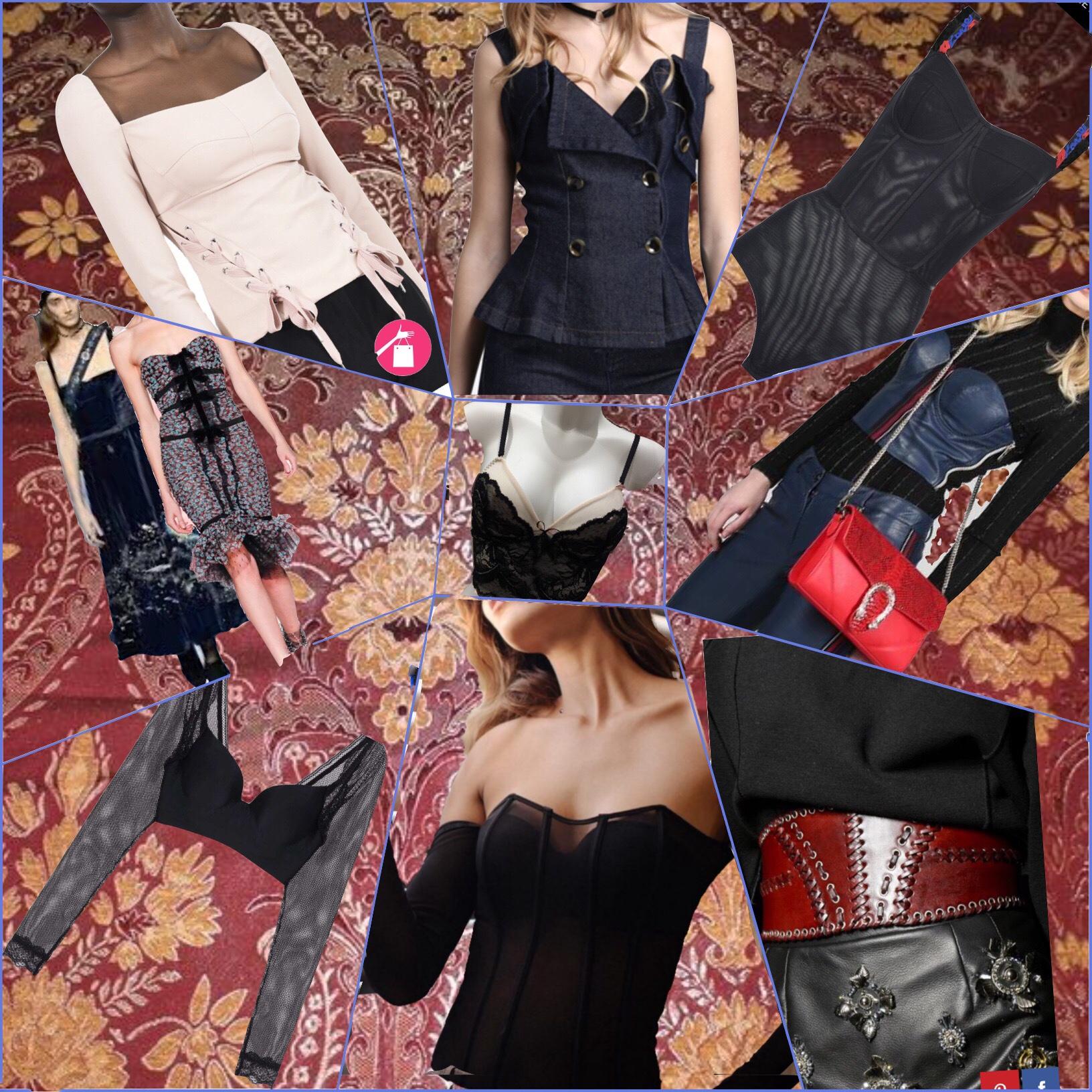 bustier, corpetto, corsetto