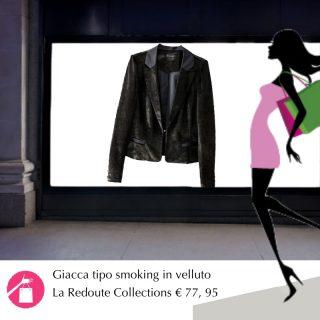 giacca smoking velluto per tubono nero
