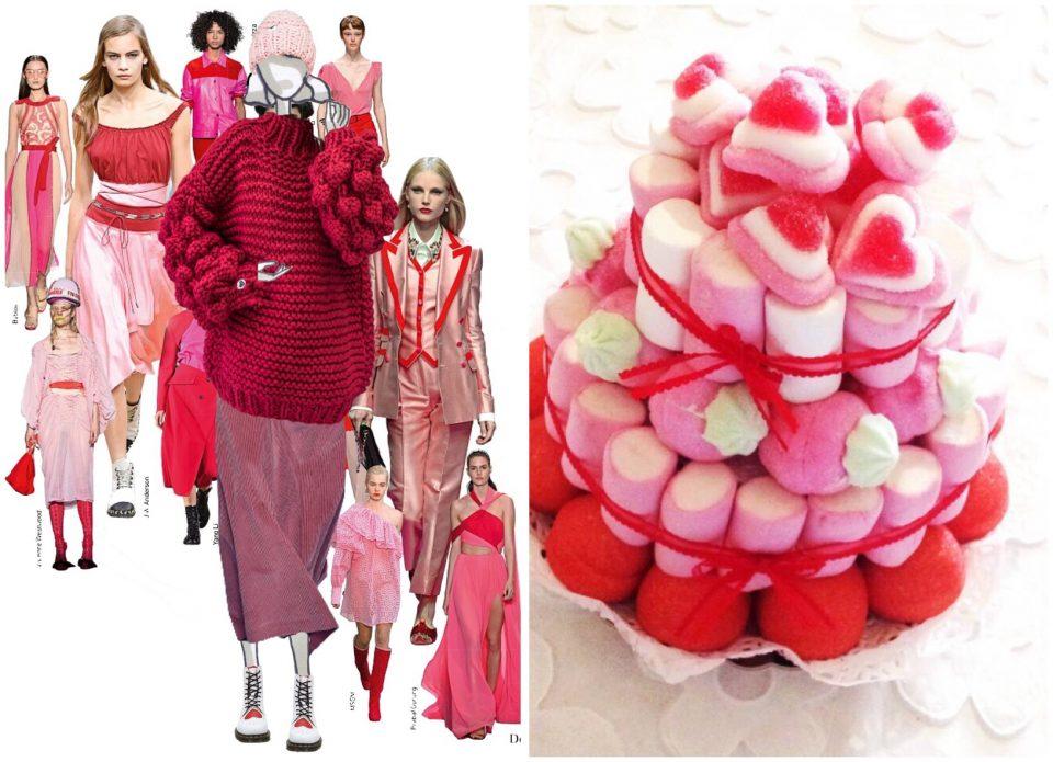 rosso e rosa per San Valentino