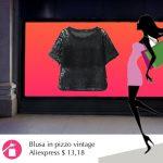 La blusa vintage in pizzo
