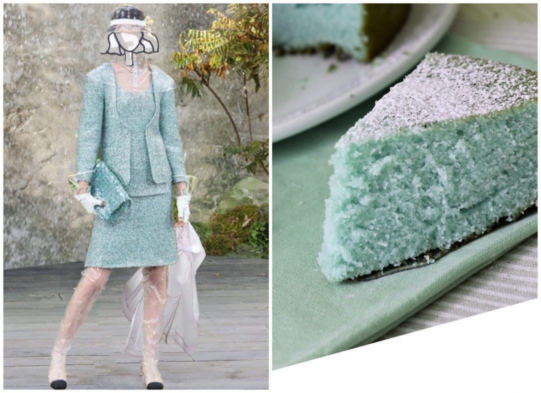 plastica trasparente ricetta torta alla menta