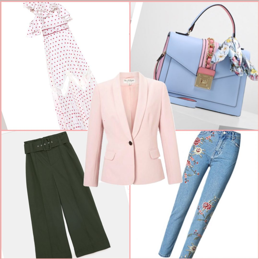 blazer rosa primavera