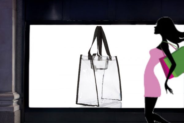 plastica trasparente borsa