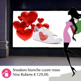 sneakers cuore mamma