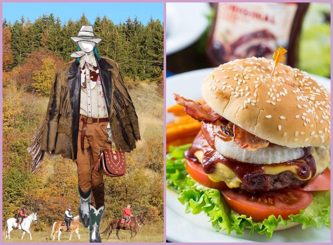 hamburger cowgirl salsa bbq