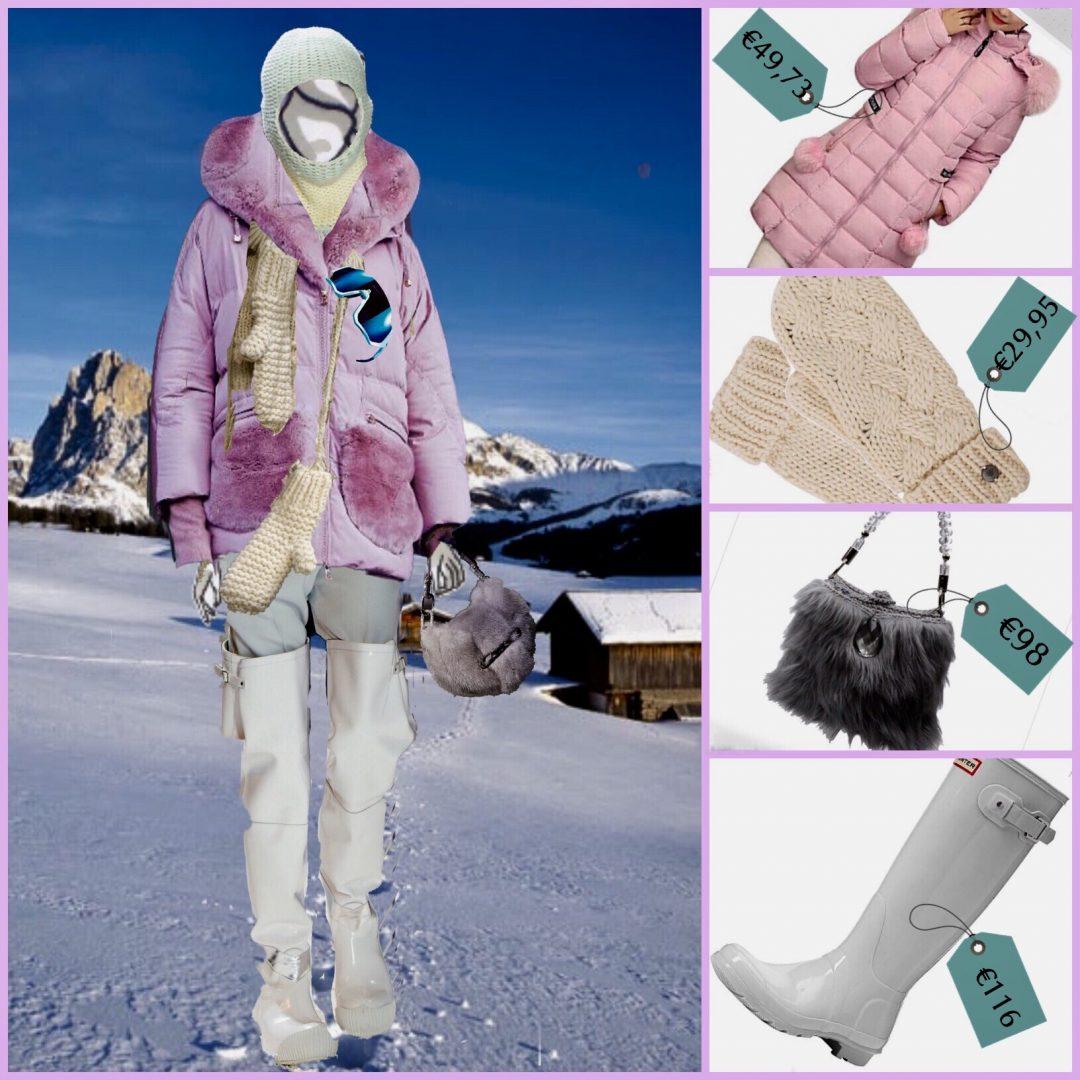 Weekend sulla neve moda accssori