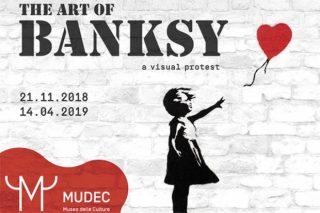banksy mostra mudec milano