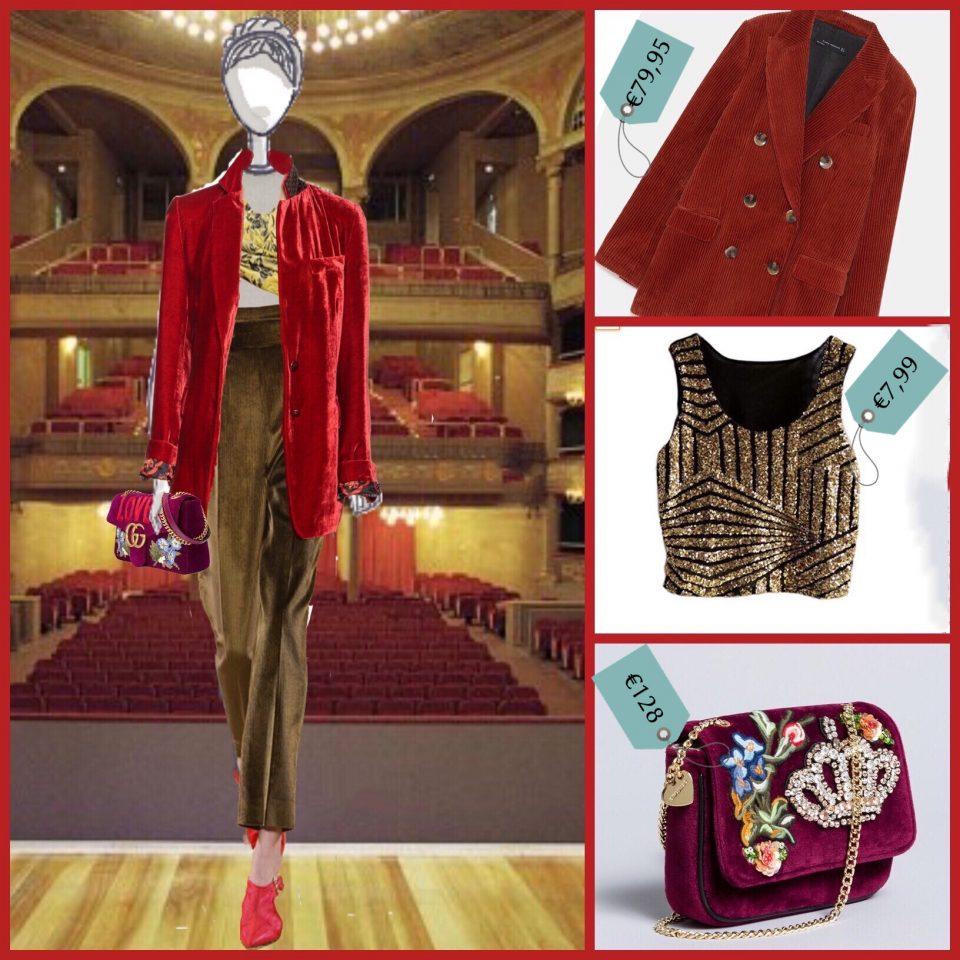 velluto mania di moda