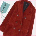 La giacca in velluto a coste