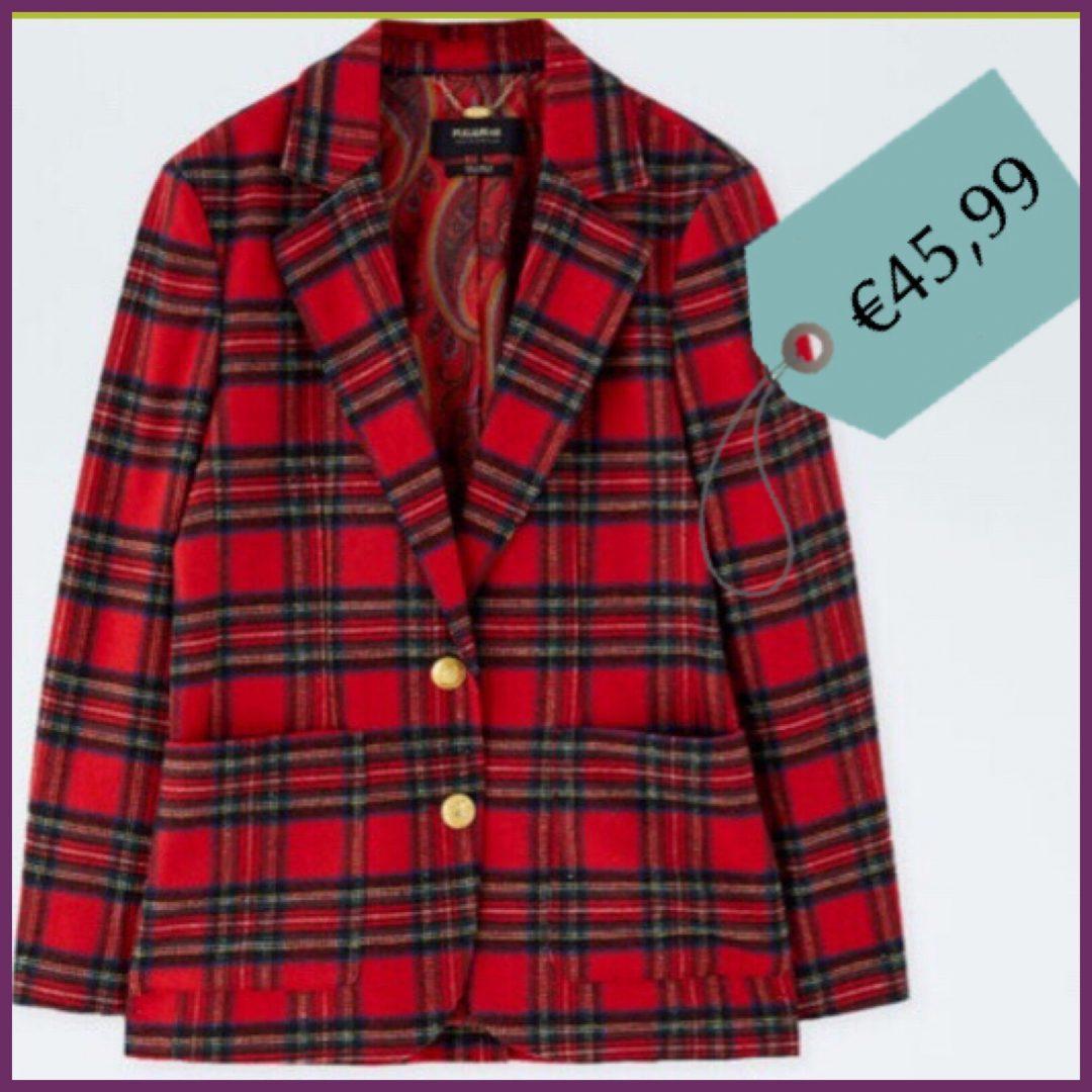 la giacca tartan british style