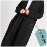Il cappotto nero classico