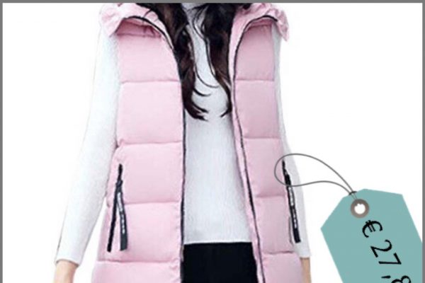 il gilet fluffy in piuma