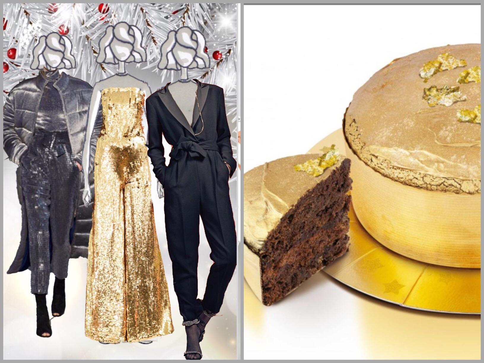 I vestiti per le  feste scintillano di bagliori metal