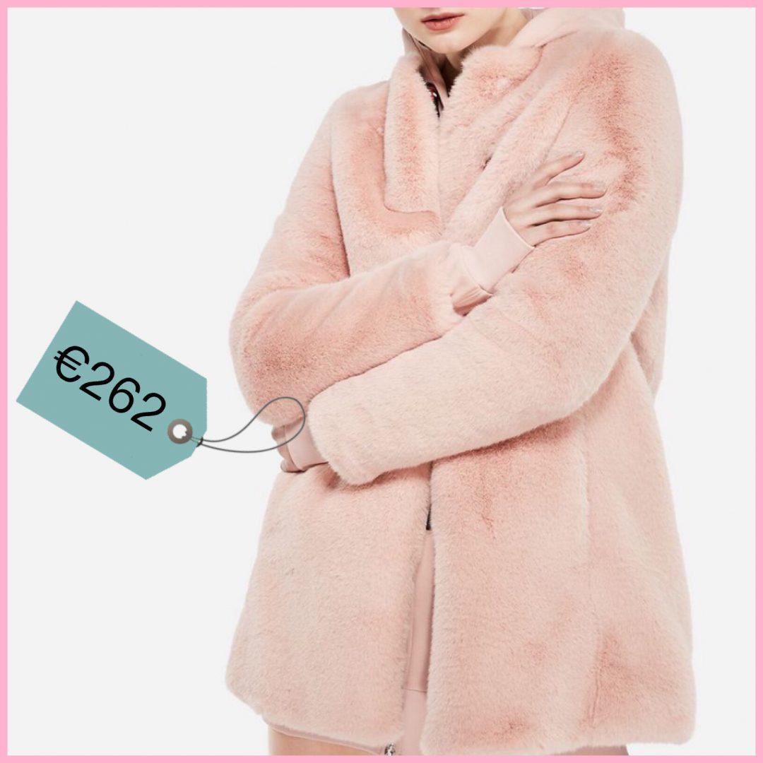la pelliccia rosa