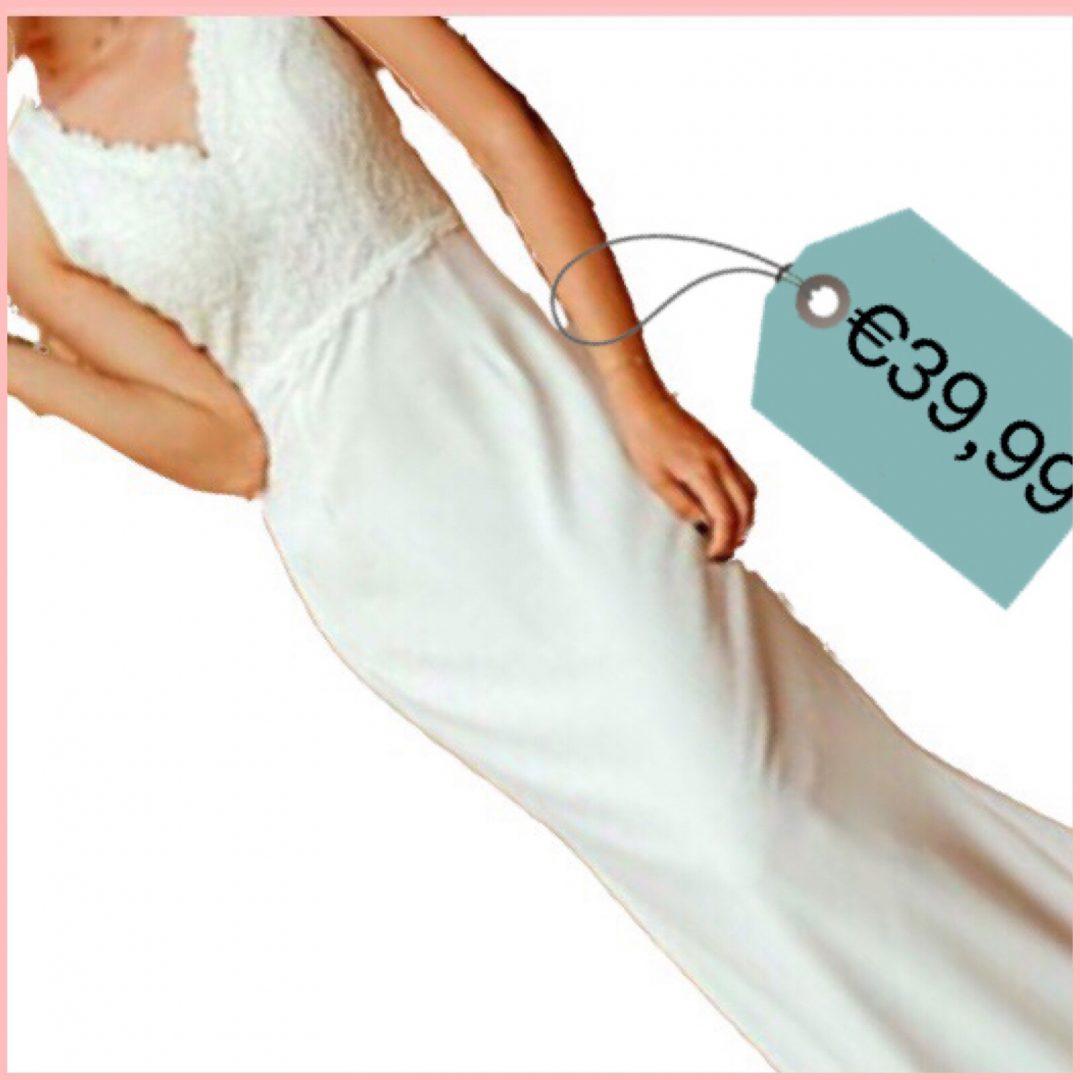 abito sposa sirena bianco