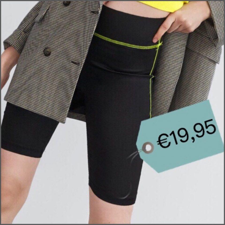 pantaloni moda ciclista