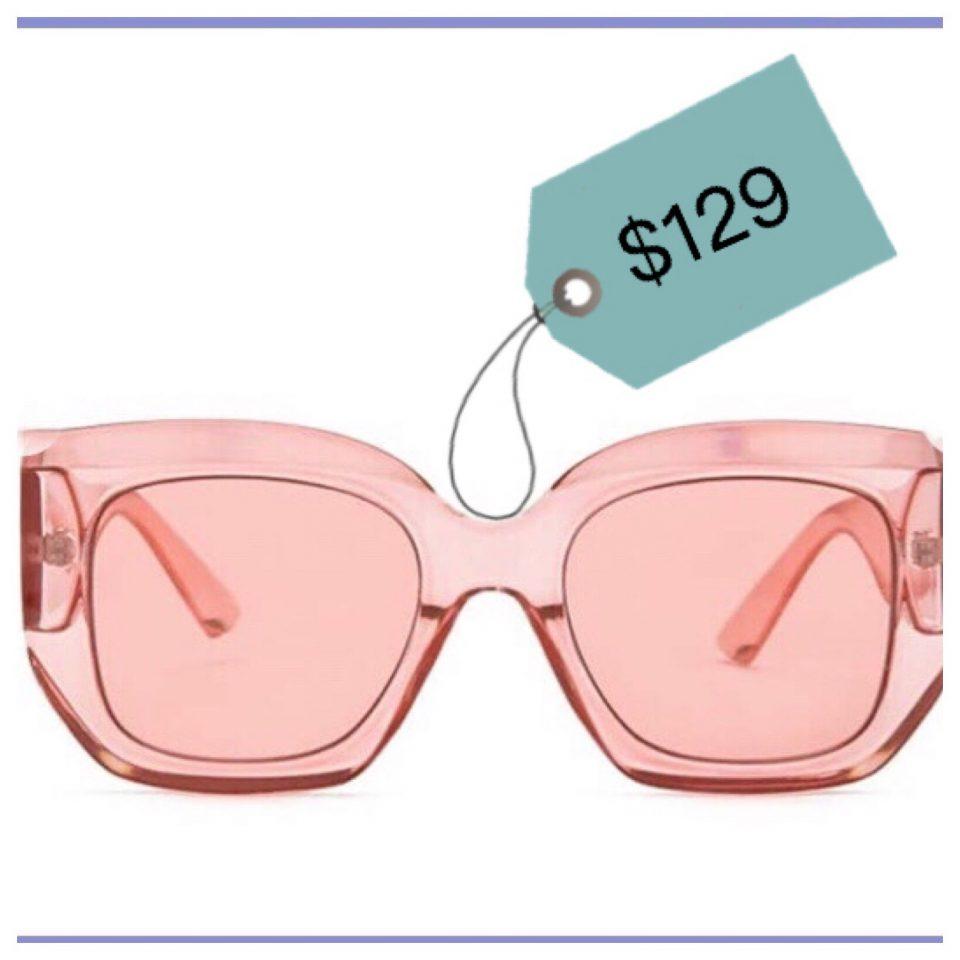 gli occhiali da diva
