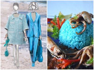 ricetta moda verde azzurro estate 2019