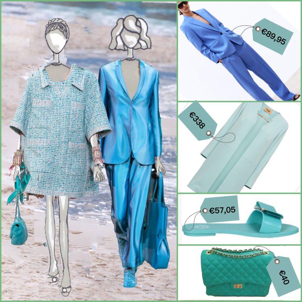 moda verde azzurro estate 2019