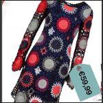 Il vestito crochet patchwork